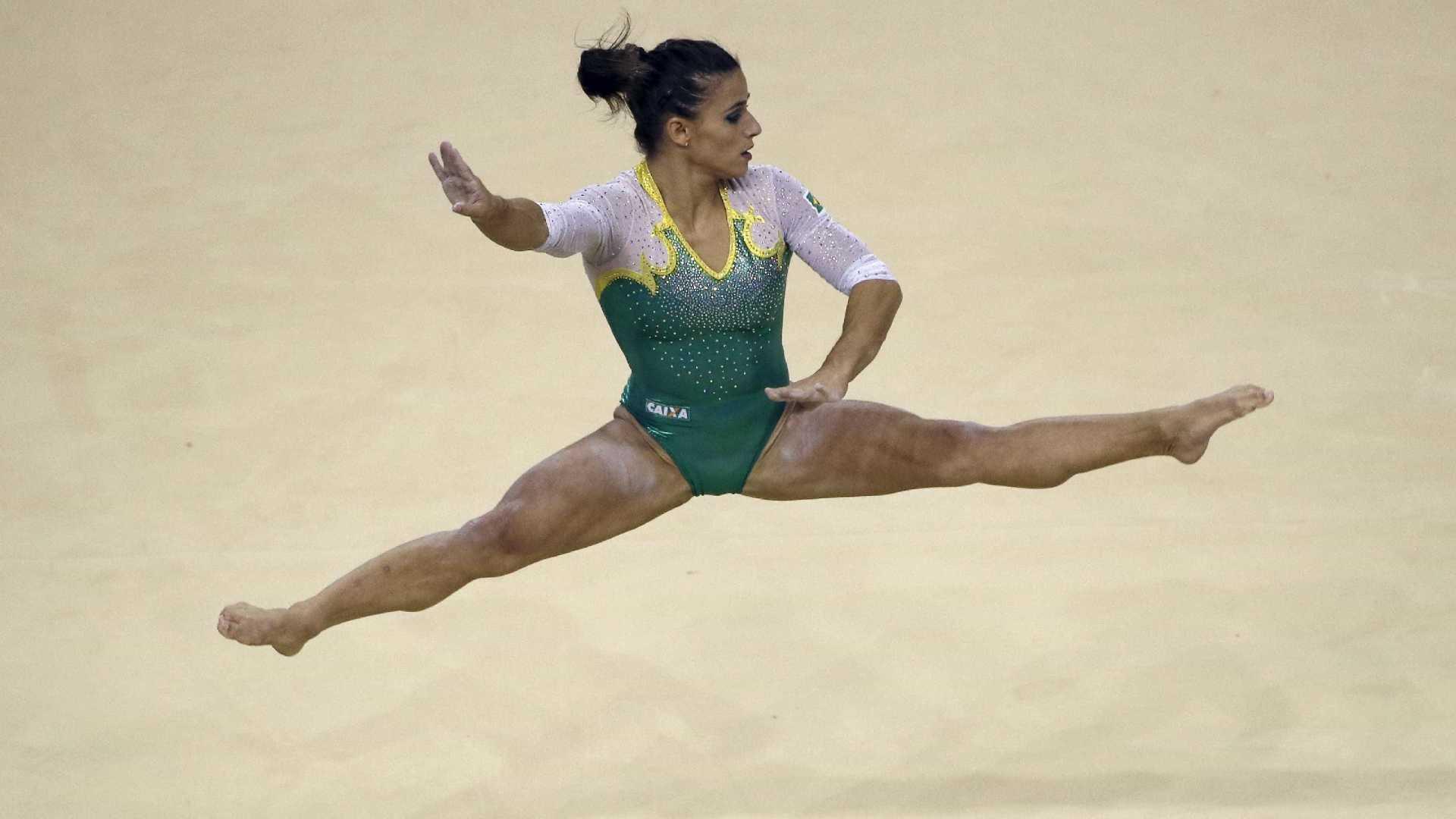 Equipe feminina do Brasil encerra Mundial de ginástica na 7ª colocação
